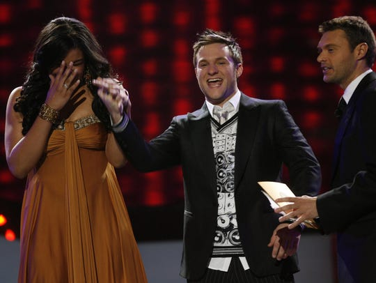 "Jordin Sparks learns she is crowned ""American Idol'"