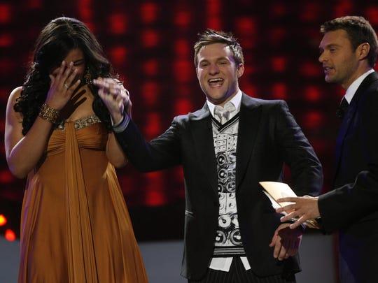 "Jordin Sparks learns she is crowned ""American Idol'"