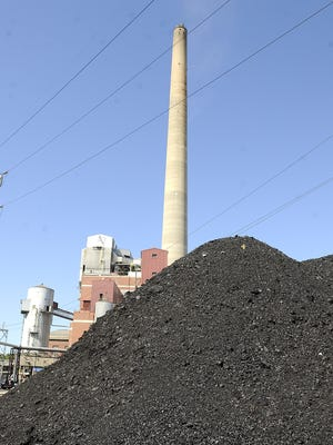Lansing Board of Water and Light's Eckert Power plant uses coal to create electricity for their customers.