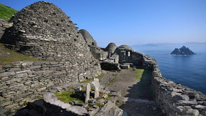 Skellig Michael, a remote Irish island, is poised for a star turn after appearing in the new Star Wars film.