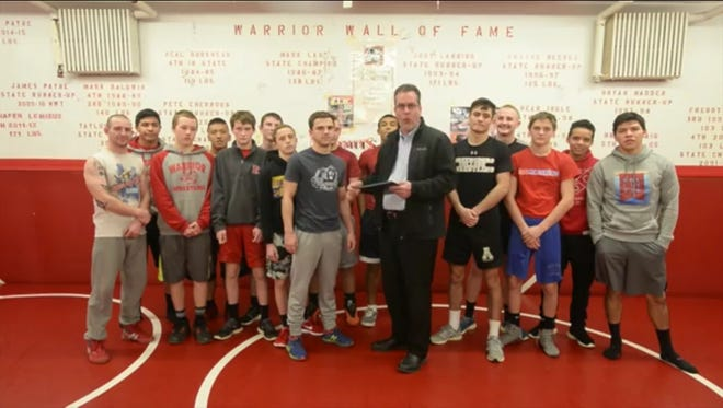 Erwin junior Justin Payne is the latest winner of the Mission Health Spotlight Performance of the Week award.