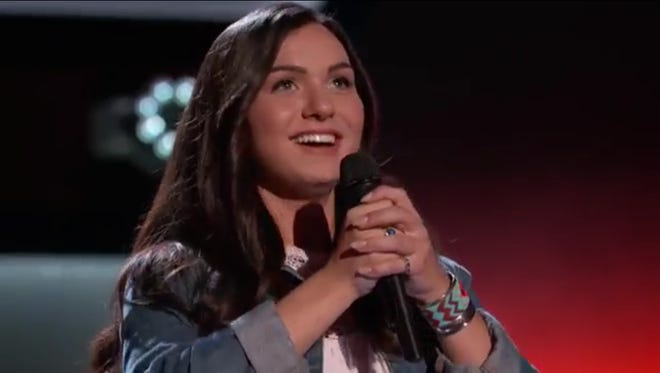 "Abby Celso, a 20-year-old from Irondequoit, competed on NBC's ""The Voice."" o"