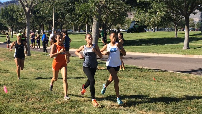 Some of the top runners in the city competed in the Burges/Jefferson Invitational Wednesday at the Chamizal National Park.