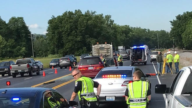Police are responding to a fatal crash near Dixie Highway and Stites Station Road.