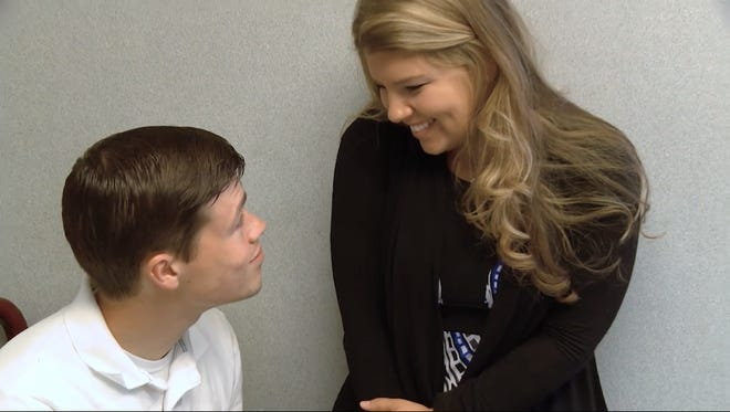 "Brandon and Michaella Keilen in a scene from ""Bringing Up Bates."""