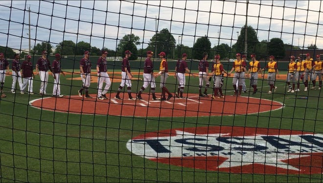Collierville baseball wins opening round of TSSAA Class AAA state playoffs with 4-1 win over Science Hill of Johnson City