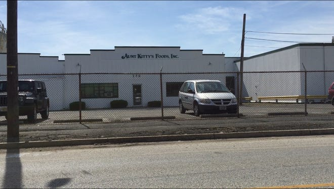 Aunt Kitty's Foods Inc. is a Vineland food processor on North Mill Road.