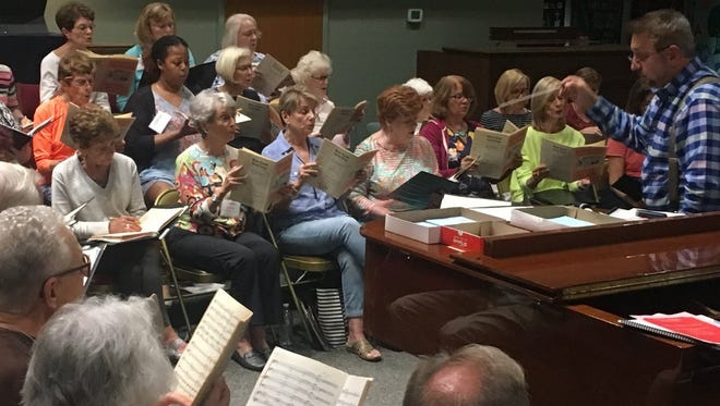 REHEARSALS TO BEGIN - The Choral Society of the Palm Beaches begins rehearsals for its 2018-19 season beginning 7 p.m. Tuesday, Sept. 4at Garden's Presbyterian Church, 4677 Hood Road, Palm Beach Gardens. New singers are welcome to join in the following sessions: 7 to9:15 p.m. Sept. 4, Sept. 11, and Sept. 25. It is The Choral Society's mission to make choral music accessible, inspiring and enriching to all, with high quality, live performances of a wide variety of a cappella and accompanied choral music. For more information about The Choral Society of the Palm Beaches, visit www.choralsocietypalmbeaches.org, or call: 561-626-9997.