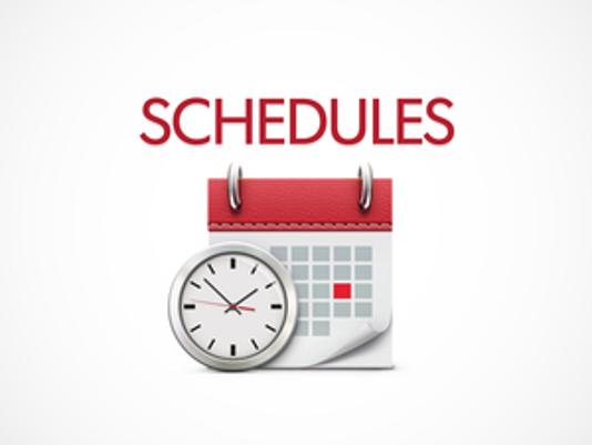 schedules