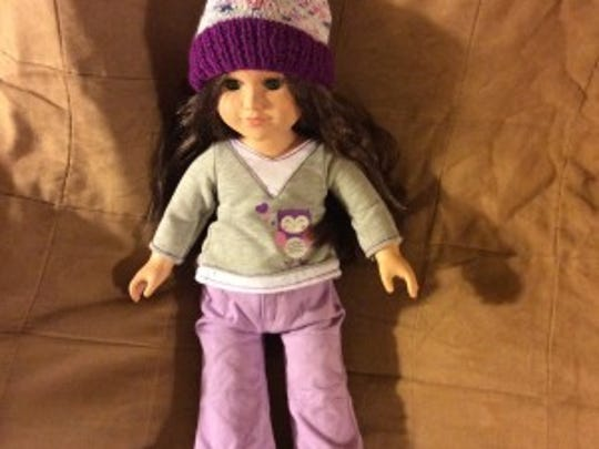This is my My Life doll, Maura, wearing one of the