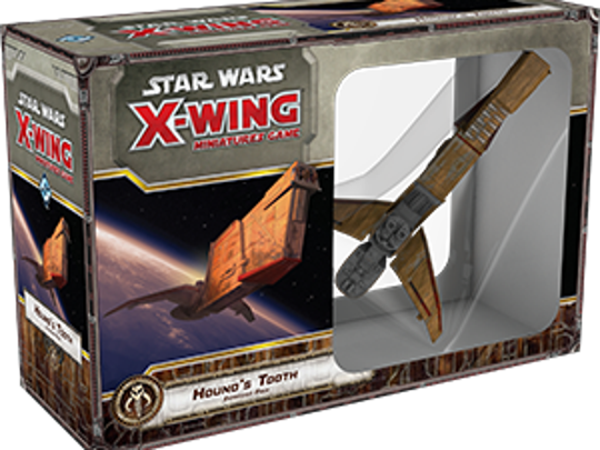 A modified YV-666 light freighter, Hound's Tooth was the signature vessel of one of the galaxy's most notorious bounty hunters and slavers, the fearsome Trandoshan Bossk.