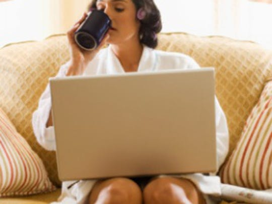 Telecommuting is a perk, and not all companies offer it.
