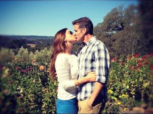 Brittany Maynard and her husband.