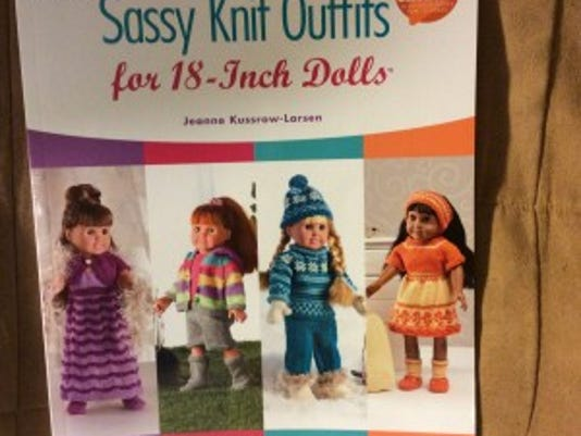 """In """"Sassy Knit Outfits for 18-Inch Dolls,"""" Jeanne Kussrow-Larson has a small collection of some very cute outfits, completed with knitted shoes or boots."""