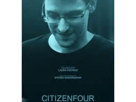 """Citizenfour,"" a documentary about NSA whistleblower Edward Snowden."