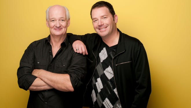 """Whose Line Is It Anyway?"" stars Colin Mochrie, left, and Brad Sherwood will perform their live improv show at 8 p.m. Sept. 8 in the Fred Kavli Theatre at the Thousand Oaks Civic Arts Plaza."
