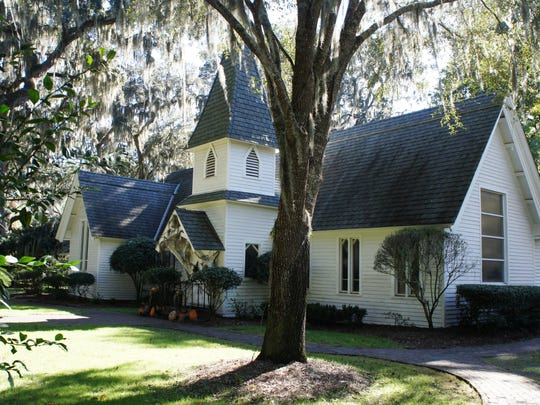 Worship at Christ Church Frederica has been continuous