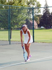 Newman Catholic's Laura Larrain will be competing at