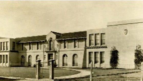 Gilbert High School, circa 1918