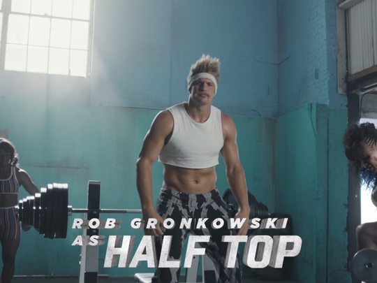 This is the perfect Gronk.