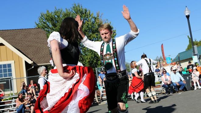 See demonstrations of traditional dance and attire at Mount Angel Oktoberfest Sept. 14-17.