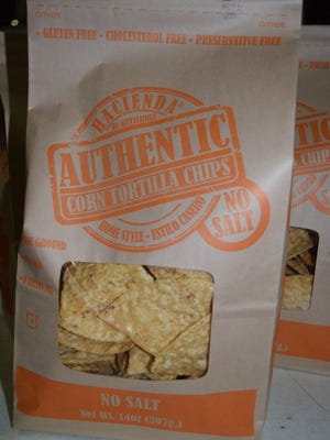 The chips, ready for store shelves.