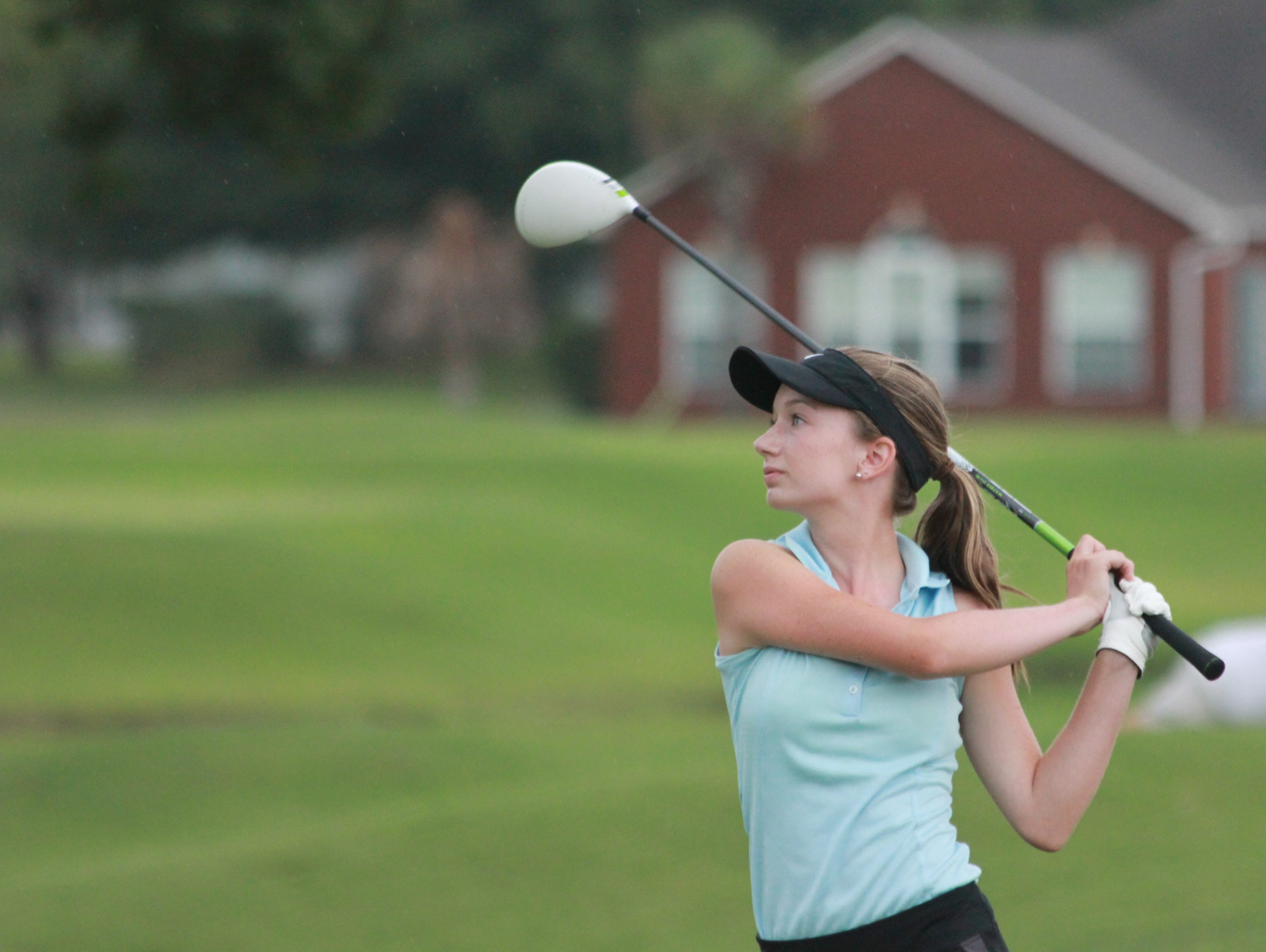 Catholic High senior Madelyn Dimitroff was one of 81 players nationally chosen from First Tee programs to participate in the Nature Valley First Tee Open at Pebble Beach.