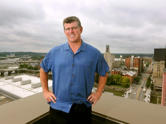 Bob Bartosiewicz, president and COO at CGI Communications, will be building a rooftop lounge overlooking downtown Rochester for his employees to use.