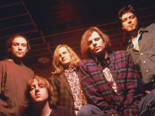 Gin Blossoms, circa 1992.  From left: Phillip Rhodes,