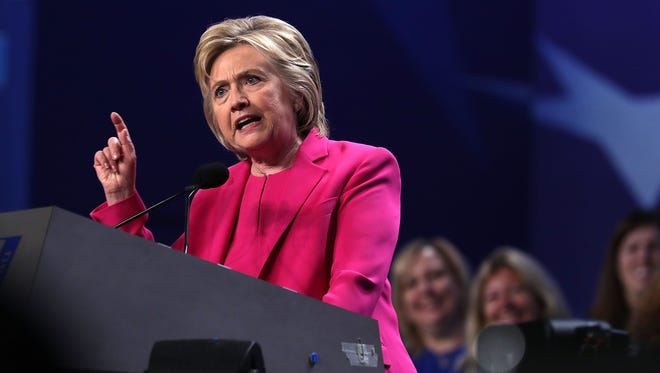 Hillary Clinton called for commonsense law enforcement reforms.