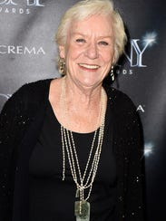 "Actress Barbara Tarbuck, known for her work on ""General"