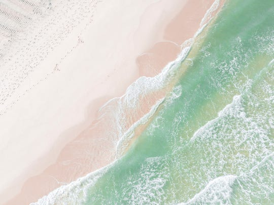 Chloe Masco's shots of the Shore from above while in Platinum Helicopters.
