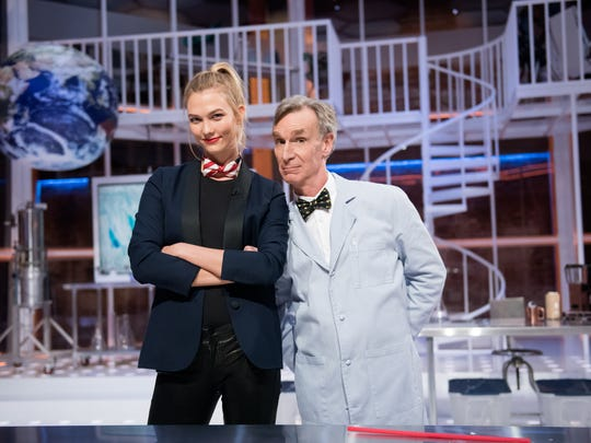 Karlie Kloss is one of Bill Nye's special correspondents