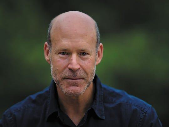 """""""Bearskin: A Novel"""" author James A. McLaughlin."""