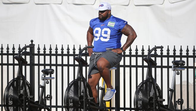 Marcell Dareus missed eight games last season due to a substance abuse suspension and a hamstring injury.
