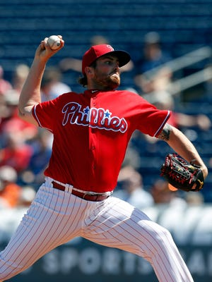 Major League Baseball suspended Phillies minor leaguer Alec Asher for 80 games on Thursday after he tested positive for dehydrochlormethyltestosterone.