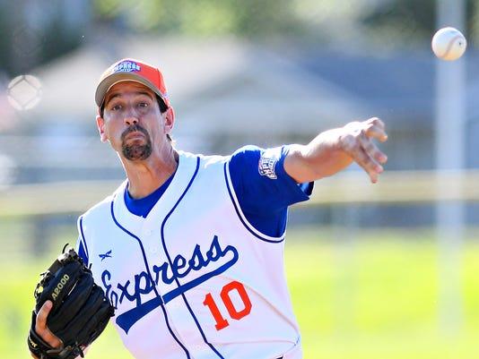 Hallam vs Stewartstown Susquehanna League baseball