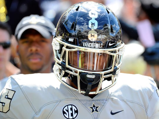 Vanderbilt linebacker Josh Smith, a former Oakland High standout, will see an increased role after the departure of Stephen Weatherly.