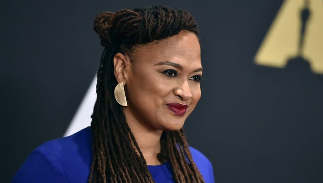 Ava DuVernay arrives at the Governors Awards at the Dolby Ballroom on Saturday, Nov. 14, 2015, in Los Angeles.