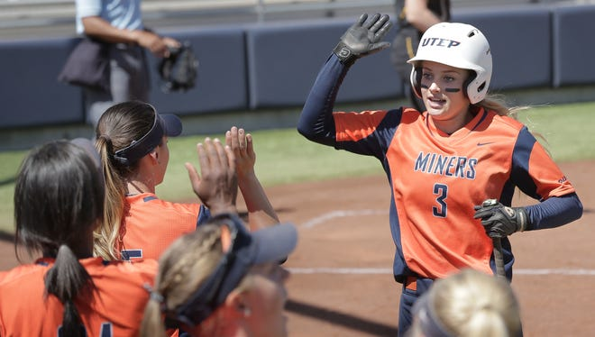 UTEP sophomore second baseman Courtney Clayton was named the Conference USA Player of the Year.