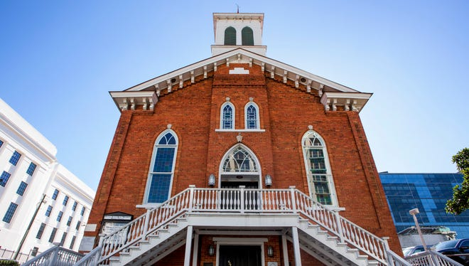 Dexter Avenue King Memorial Baptist Church in Montgomery, Ala., on Friday January 13, 2017.
