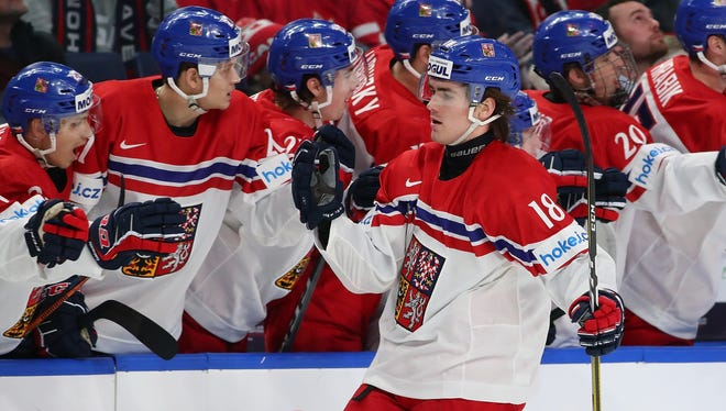 Filip Zadina was ranked the third or fourth best prospect in the NHL Draft by most scouts.