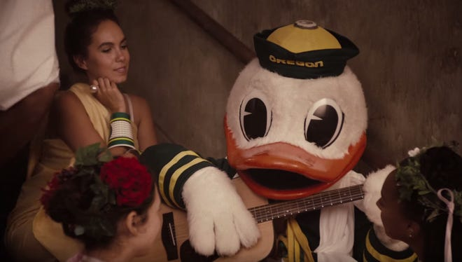 "Oregon and Nike put on an ""Animal House"" remake."