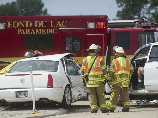 Car Accident On Fond Du Lac