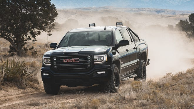 The GMC Sierra All-Terrain X will be on display at the Houston Auto Show and will go on sale this spring.