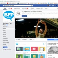 How to keep seeing Burlington Free Press stories on Facebook