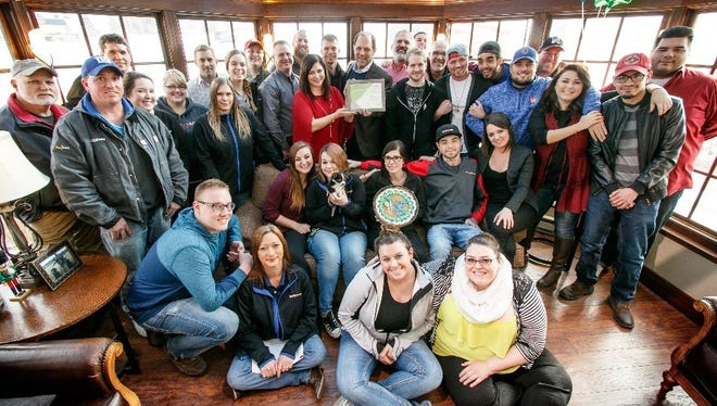 Tundraland was recognized by Future Neenah Inc. for extraordinary contributions by a business to the overall quality of life enjoyed in the community.