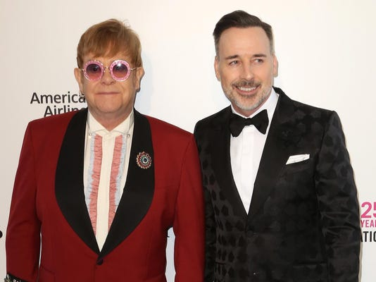 Elton John,David Furnish