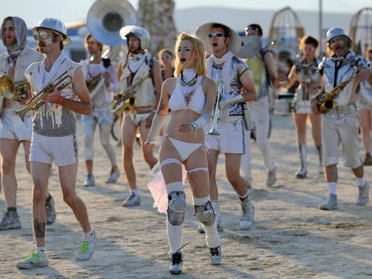 Burning Man Monday