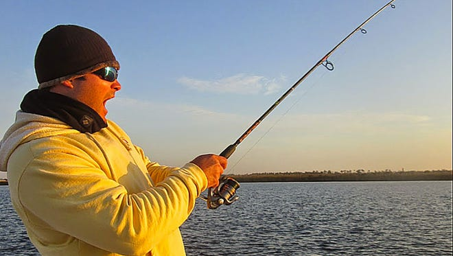 Fall redfish action has been keeping anglers busy.